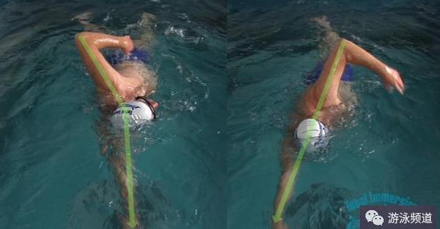一个方法,教你改正很多自由泳的错误动作