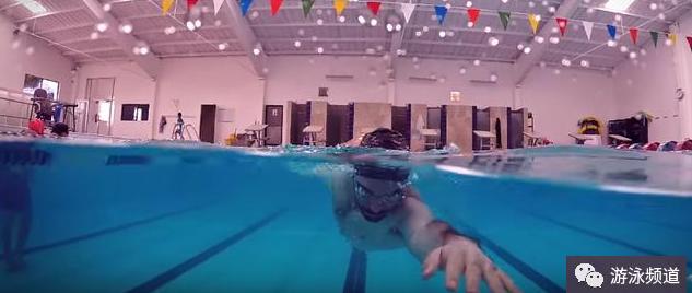 全浸式自由泳提速,学会这个技能