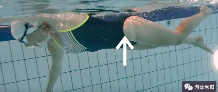 自由泳打腿动作原理分析,自由泳的鞭状打腿