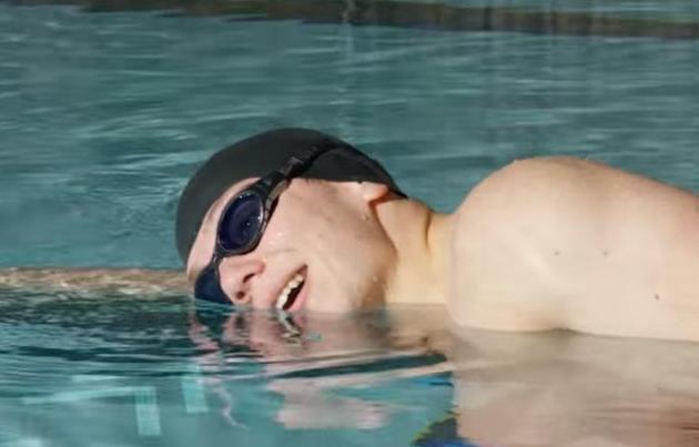 学习自由泳换气的经验,分享给你