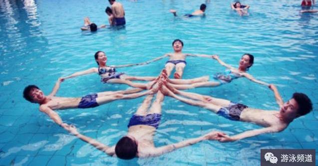 学游泳不抓东西不敢浮?教你学会游泳漂浮